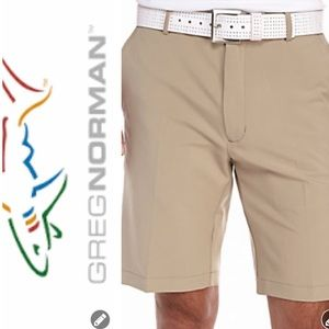 NWT Greg Norman Performance Stretch Shorts